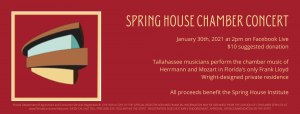 Spring House Benefit Concert