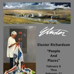 """Eluster Richardson """"People and Places"""" Opening"""