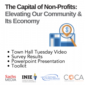 The Capital of Non-Profits: Elevating Our Community and Its Economy