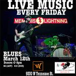 Memphis Lightning a full night of Blues Music on the River