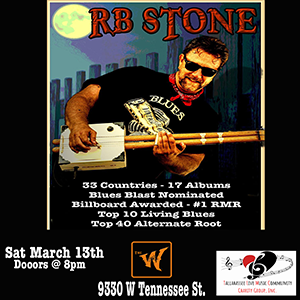 R.B. Stone brings the Blues to the old Riverfront ...