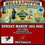 Hellzapoppin Circus Side Show @ Warrior on the River