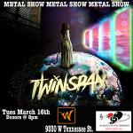 Twinspan | Bon Yard | Burn This Down - The Erratus Tour 2021