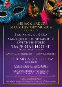JHBHM - 3rd Annual Masquerade Gala to save the Imperial Hotel