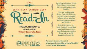 Virtual African American Read-In