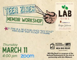 Teen Memoir Zine Workshop