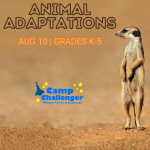 Camp Challenger: Animal Adaptations (Grades K-5)
