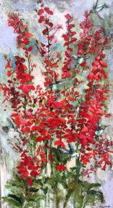 """""""Native Wild"""" paintings by Anne Hempel"""
