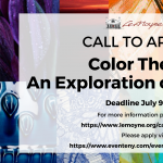 Color Theory: An Exploration of Pigments, Call to Artists