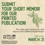 Short Memoir Submissions