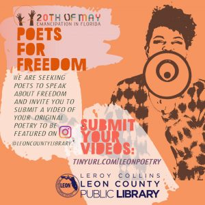 Call for Video Poetry: Emancipation Day Poets for Freedom