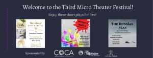 Third Micro Theater Festival