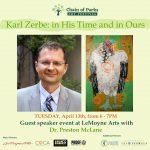 Zerbe Zelebration Guest Speaker- Dr. Preston McLane