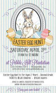 Pebble Hill Plantation Easter Egg Hunt