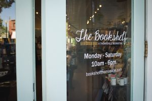 """""""The Bookshelf"""" at Word of South Festival"""