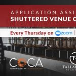 Application Assistance for Shuttered Venue Operator Grant