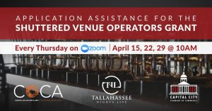 Application Assistance for Shuttered Venue Operato...