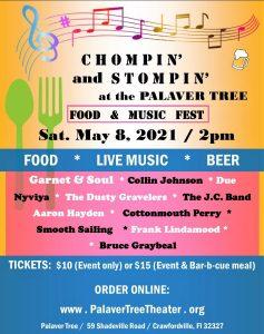 Chompin' and Stompin' at the Palaver Tree