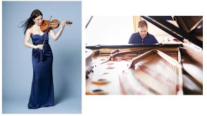 Amy Schwartz Moretti, violin & Andrew Armstrong, piano