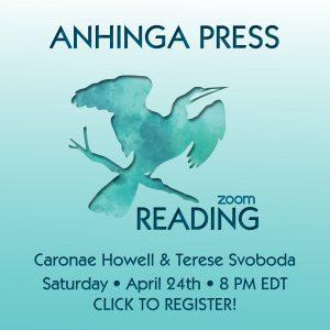 Anhinga Press Duo Book Release Reading