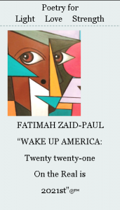 Wake Up America: Twenty twenty-one on the Real is ...