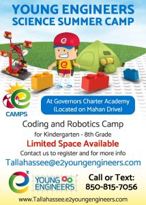 STEAM Science Summer Camp for Budding Scientist and Engineers