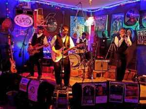 Brett Wellman & The Stone Cold Blues Band Under the Oaks