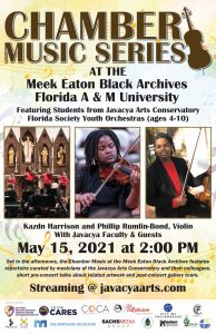 Chamber Music Series at Florida A&M University...