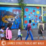 Gaines Street Public Art Walk
