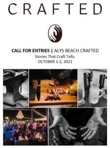 Alys Beach Crafted Call for Entries