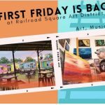 First Friday at Railroad Square Art District