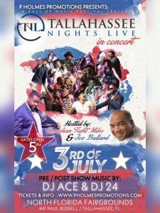 Tallahassee Nights Live at the North Florida Fairg...
