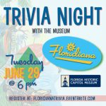 Virtual Trivia Night with the Museum: Floridiana Edition