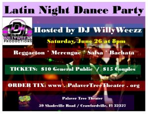 Latin Night Dance Party