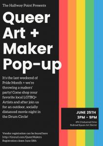 Queer Arts & Makers' Pop-Up