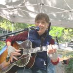 Adrian Fogelin at the Downtown Market