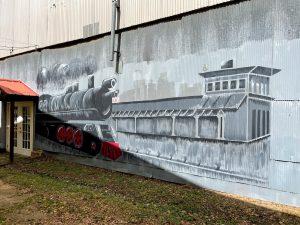 Railroad Depot Mural