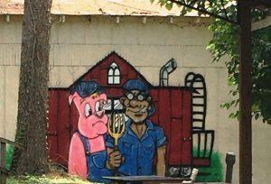 Crum Box Mural
