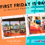 First Friday at Railroad Square, August