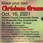 Fused-Glass Ornaments Workshop - Crawfordville