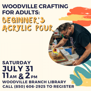 Woodville Crafting for Adults: Beginner's Acrylic Pour