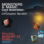 CosmicCon: Monsters and Magic: Card Illustration with Christopher Burdett