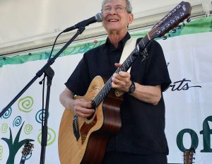 Craig Reeder plays solo at the Downtown Market