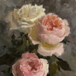 Painting Flowers with Olena Babak at Natalia's Studio, October 5-7, 2021 from 10am to 5pm