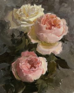 Painting Flowers with Olena Babak at Natalia's Stu...