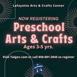 Preschool Arts & Crafts Classes