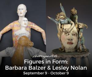 Figures in Form: Barbara Balzer & Lesley Nolan...
