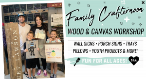 Family Crafternoon - Youth & Adult Projects