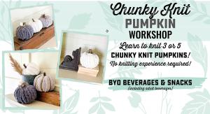 Chunky Knit Pumpkin Workshop