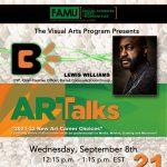 Art Talks with Lewis Williams